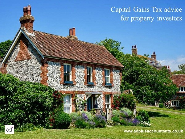 Tax on property sales